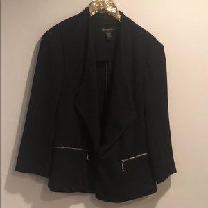 INC   quilted blazer